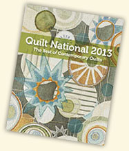 Quilt National Cover 2013: Marianne Burr